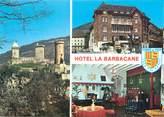 """09 Ariege CPSM FRANCE 09 """"Foix, hostellerie La Barbacane"""""""