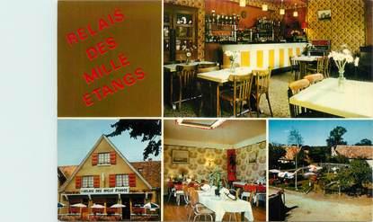 """CPSM FRANCE 36 """"Saint Gemme, hôtel restaurant le relais des Mille Etangs"""""""