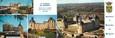 """CPSM LIVRET FRANCE 24 """"Le Château de Hautefort"""""""