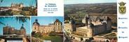 """24 Dordogne CPSM LIVRET FRANCE 24 """"Le Château de Hautefort"""""""