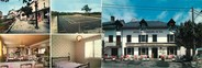 "15 Cantal CPSM LIVRET FRANCE 15 ""Le Rouget, hôtel des voyageurs"""