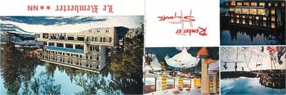 """CPSM LIVRET FRANCE 15 """"Super Lorian, hôtel restaurant Le Remberter et son annexe Le Saporta"""""""
