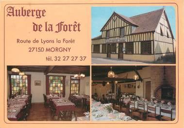 "CPSM FRANCE 27 ""Morigny, auberge de la forêt"""