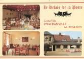 """27 Eure CPSM FRANCE 27 """"Damville, le relais de la poste"""""""