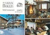 """74 Haute Savoie CPSM FRANCE 74 """"Megève, hôtel restaurant au vieux moulin """""""