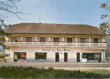 "CPSM FRANCE 74 ""Sevrier, hôtel du lac Bleu"""