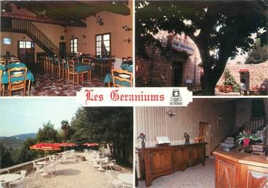 """CPSM FRANCE 84 """"Le Barroux, hôtel les Géraniums"""""""