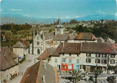 "CPSM FRANCE 38 ""Corbelin, un coin du village"""