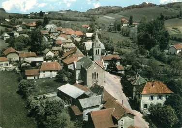 """CPSM FRANCE 38 """"Valencogne, vue aérienne, le centre du village"""""""