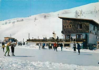 """CPSM FRANCE 38 """"Les Deux alpes, la patinoire de l'Alpe de Mont de Lans"""""""