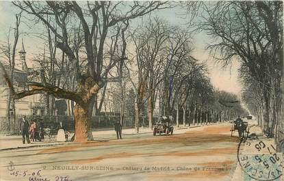 "CPA FRANCE 92 ""Neuilly sur Seine, Château de Madrid"""
