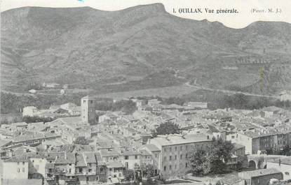 """CPA FRANCE 11 """"Quillan, vue générale """""""