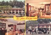 """40 Lande CPSM FRANCE 40 """"Azur, hôtel restaurant des Pins, Chez Lacaze"""""""