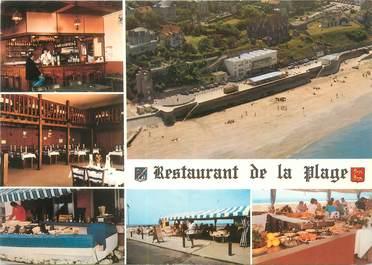 "CPSM FRANCE 14 ""Villerville sur Mer, bar brasserie restaurant de la plage"""