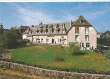 """CPSM FRANCE 15 """"Salers, hôtel restaurant Le Bailliage"""""""