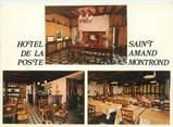"""18 Cher CPSM FRANCE 18 """"Saint Amand Montrond, hôtel de la poste"""""""
