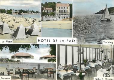 """CPSM FRANCE 17 """"Saint Palais sur Mer, hôtel de la Paix"""""""