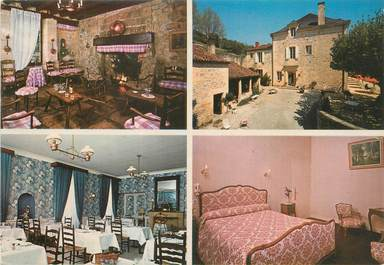 "CPSM FRANCE 24 ""Saint Cyprien, hôtel restaurant l'Abbaye"""