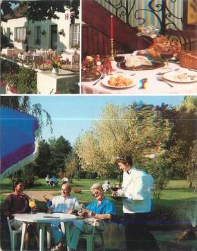 """CPSM FRANCE 03 """"Lurcy Levis, hôtel restaurant le Pont Neuf"""""""
