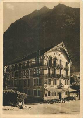 """CPSM FRANCE 65 """"Cauterets, hôtel Bellevue"""""""