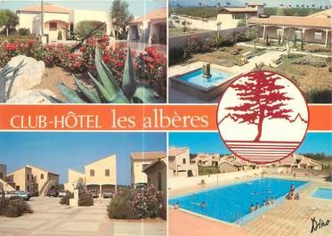 """CPSM FRANCE 66 """"Argelès sur Mer, Club hôtel les albères"""""""