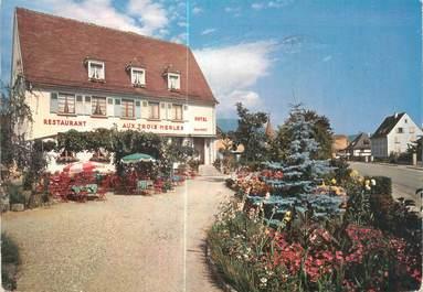 """CPSM FRANCE 68 """"Ammerschwihr, hôtel restaurant Aux trois Merles"""""""