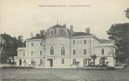 """CPA FRANCE 26 """"Château des Roches, vue prise du Couchant"""""""