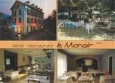 """38 Isere CPSM FRANCE 38 """"Uriage Les Bains, hôtel restaurant Le Manoir"""""""