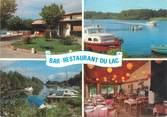 """40 Lande CPSM FRANCE 40 """"Biscarosse, bar restaurant du lac"""""""