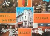 """68 Haut Rhin CPSM FRANCE 68 """"Colmar, hôtel restaurant de la Fecht"""""""