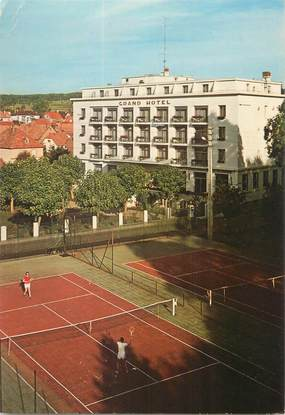 "CPSM FRANCE 67 ""Niederbronn les Bains, le grand hôtel"""