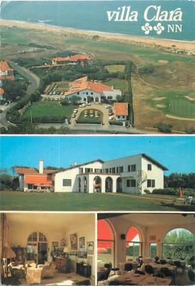 """CPSM FRANCE 64 """"Anglet, villa Clara, hôtel"""""""