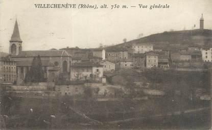 """CPA FRANCE 69 """"Villechenève, vue générale """""""
