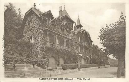 "CPA FRANCE 69 ""Sainte Catherine, villa Marrel"""