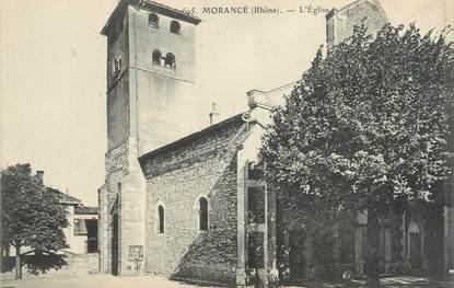 """CPA FRANCE 69 """"Morancé, l'église"""""""