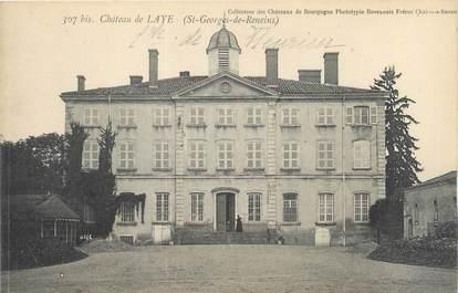 """CPA FRANCE 69 """"Saint Georges de Reneins, château de Laye"""""""