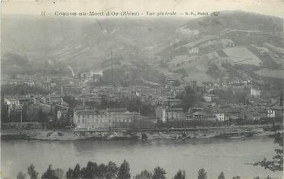 """CPA FRANCE 69 """"Couzon au Mont d'Or, vue générale """""""