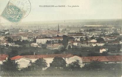 """CPA FRANCE 69 """"Villefranche sur Saône, vue générale"""""""