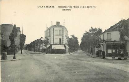 """CPA FRANCE 92 """"La Garenne, Carrefour de l'Aigle et de Sartoris"""""""