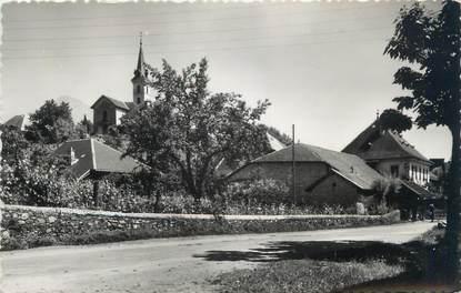 """CPSM FRANCE 73 """"Montailleur, l'église"""""""
