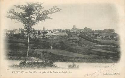 "CPA FRANCE 89 ""Vézelay, vue  générale"""