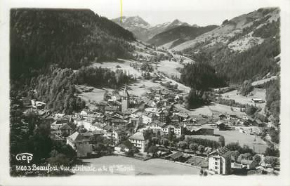 """CPSM FRANCE 73 """"Beaufort, vue générale et le Grand Mont"""""""
