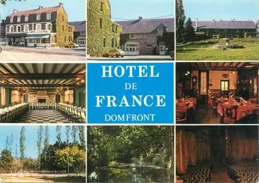 """CPSM FRANCE 61 """"Domfront, hôtel de France"""""""