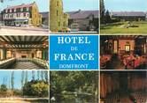 """61 Orne CPSM FRANCE 61 """"Domfront, hôtel de France"""""""