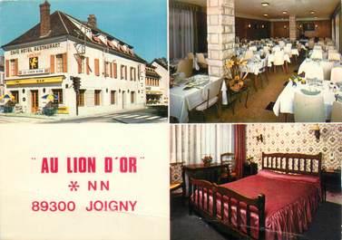 """CPSM FRANCE 89 """"Joigny, bar hôtel restaurant au lion d'Or"""""""