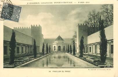 """CPA MAROC """"Exposition coloniale internationale, Paris 1931, Pavillon du Maroc"""""""