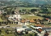 """73 Savoie CPSM FRANCE 73 """"Frontenex, vue générale aérienne, quartier de la gare"""""""