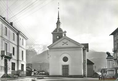 """CPSM FRANCE 73 """"Grésy sur Isère, l'église"""""""