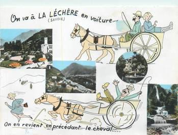 """CPSM FRANCE 73 """"La Lechère les Bains"""""""