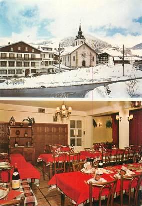 "CPSM FRANCE 73 ""Notre Dame de Bellecombe, hôtel Bellevue"""